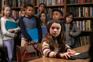 brooklynn prince balances solving a murder mystery and 4th grade in apple's 'home before dark' trailer (video)