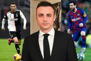 dimitar berbatov explains who could be heir to messi and ronaldo in world football