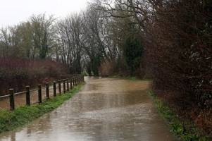 flood warnings issued for kent and surrounding areas as county battered by bad weather