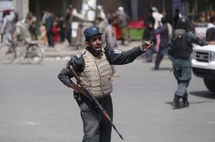 Gunfire at ceremony in Kabul; Taliban denies attack