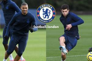 chelsea's frank lampard delivers injury update on christian pulisic and ruben loftus-cheek