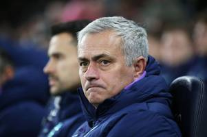 tottenham press conference live: jose mourinho on burnley draw, giovani lo celso & eric dier