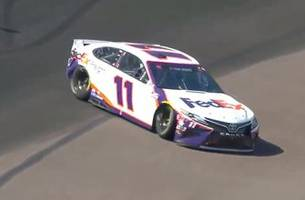 keselowski, hamlin, blaney get caught up in wreck late in stage 1