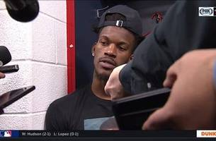 jimmy butler on bam: 'that's what all-stars do'