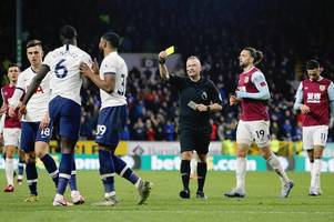 former referee delivers his verdict on key var decisions in burnley vs tottenham clash