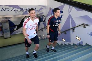 mikel arteta gives updates on cedric and shkodran mustafi ahead of arsenal's clash with man city