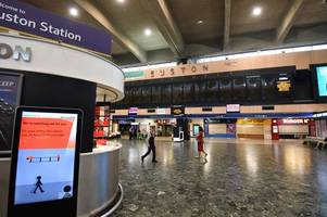 london euston and birmingham new street train disruption causes chaos for passengers