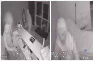 watch: thieves rampage through dollface cosmetics in coseley
