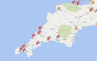 more flood warnings issued in devon and cornwall