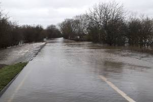 police urge drivers to take care as flood warnings issued for gloucestershire and more heavy rain falls