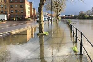 flood warnings remain in place for the bristol area as more rain is forecast