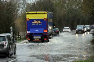 live updates as flooding closes school, m5 traffic news and gloucestershire breaking stories