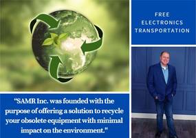 albert boufarah announces free electronics transportation with samr inc. for earth day's 50th anniversary