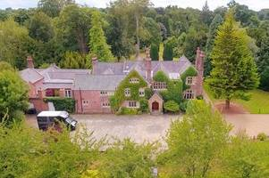 sneak peek inside ex-stoke city striker's £4m mansion for through the keyhole