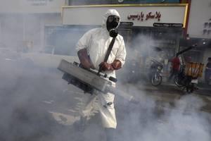coronavirus in iran spotlights us 'maximum pressure'