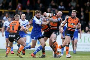 castleford tigers v st helens live score updates as saints trail in a tetchy affair