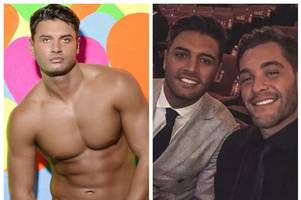 celebs pay tribute to love island's mike thalassitis one year on from his death