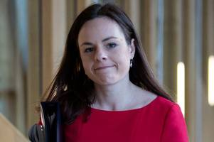 snp finance secretary kate forbes says women are being forced out of holyrood