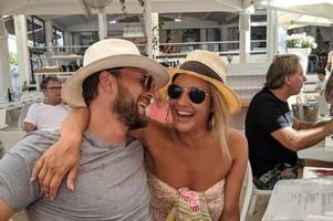 caroline flack's devastated boyfriend shares tribute one month after death
