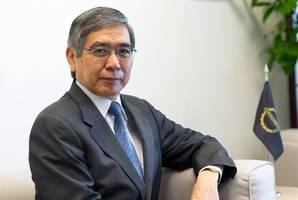 bank of japan's kuroda says japan banks, firms not facing trouble procuring dollars