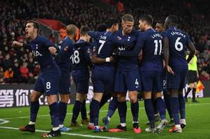spurs season player ratings - lo celso superb, ndombele poor