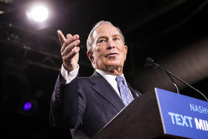 mike bloomberg lays off staffers and abandons expenditure campaign to aid democratic nominee, tosses dnc $18m instead