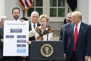 president trump announces more actions to confront global pandemic