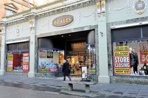 pandemic forces beales to shut two weeks earlier than planned