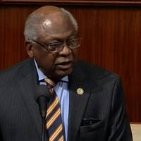 article misquotes clyburn on ending democratic primary