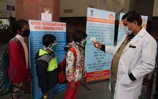 coronavirus in india: govt asks public, private hospitals to set aside beds as cases rise