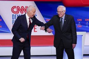 joe biden and bernie sanders both beat donald trump by wide margins in new poll