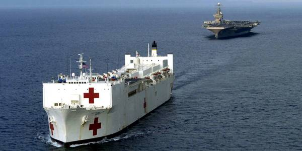 trump orders immediate deployment of hospital ship to los angeles, anticipating 'hotbed' surge of coronavirus cases in california