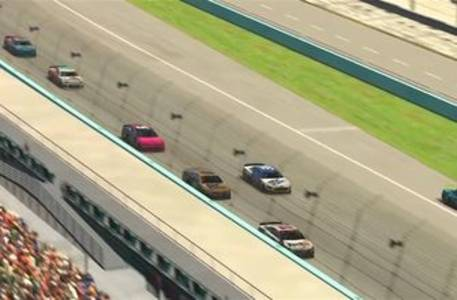 final laps: hamlin passes dale jr. on the last lap to win at homestead-miami speedway for iracing's pro invitational race