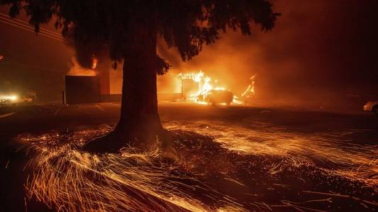 pg&e to plead guilty to manslaughter over california camp fire