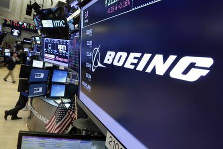 boeing, american express share gains contribute to dow's 1575-point surge