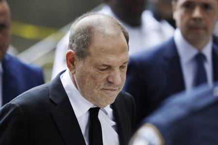 harvey weinstein still faces charges in los angeles and the city's prosecutor is requesting his transfer from new york