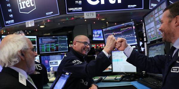'a real step forward': stocks climb after lawmakers agree $2 trillion coronavirus stimulus