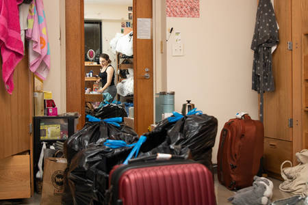 With College Dorms Closing Over Coronavirus Worries, Students Scramble To Move Out