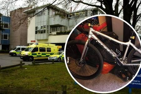 nhs worker has bike stolen from cheltenham hospital during shift