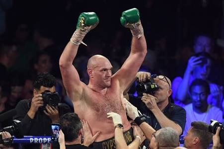 fury to pocket 60 per cent prize money purse split in wilder trilogy fight