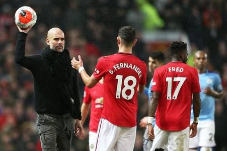 man utd news as bruno fernandes confesses to pep guardiola touchline row regret