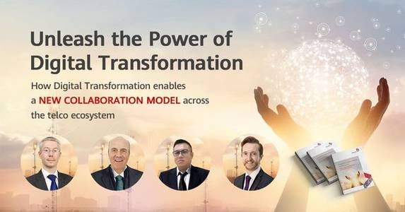 whitepaper launch - unleash the power of digital transformation is held by tm forum and huawei technologies on 26th march 2020