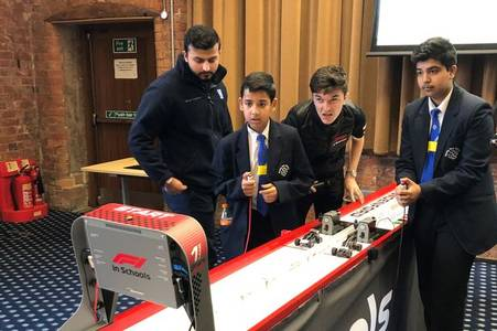 Derby students have the winning formula in fast and furious competition