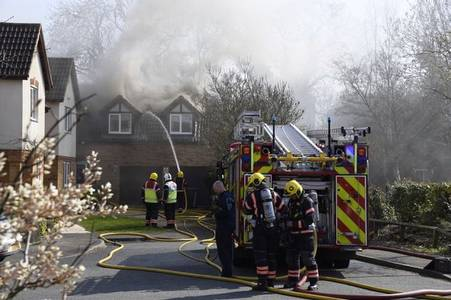 Live updates as more than 20 firefighters rush to serious house fire