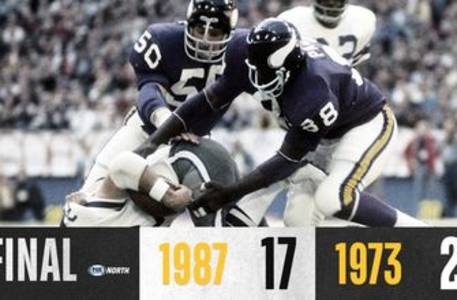 vikings all-time tournament: 1973 holds off upset-hungry 1987