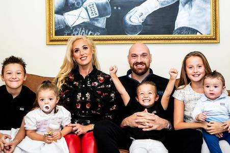 itv want tyson fury and family to do live show from home next week, boxer claims