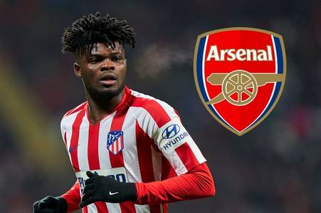 arsenal receive thomas partey transfer update