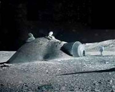 astronaut urine to build moon bases