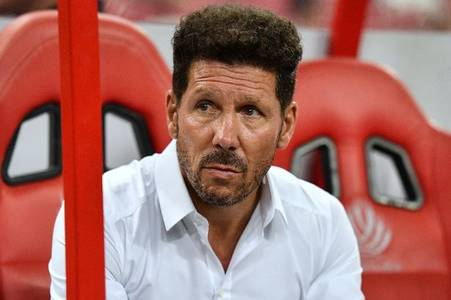 Atletico Madrid boss Diego Simeone could lose £1m a month due to coronavirus