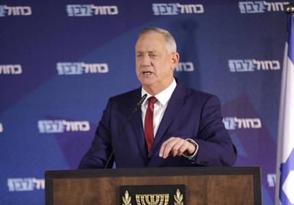 gantz may block settlement annexation by new government